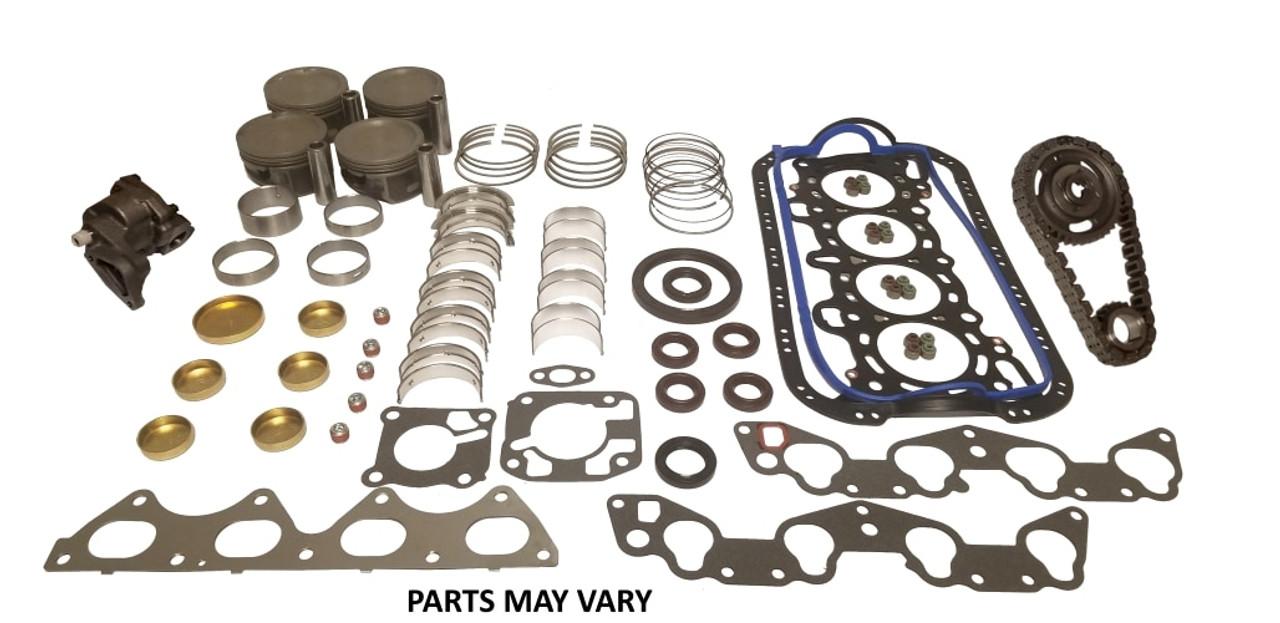engine rebuild kit master 3 8l 2001 ford windstar ek4126m 3 engine parts only