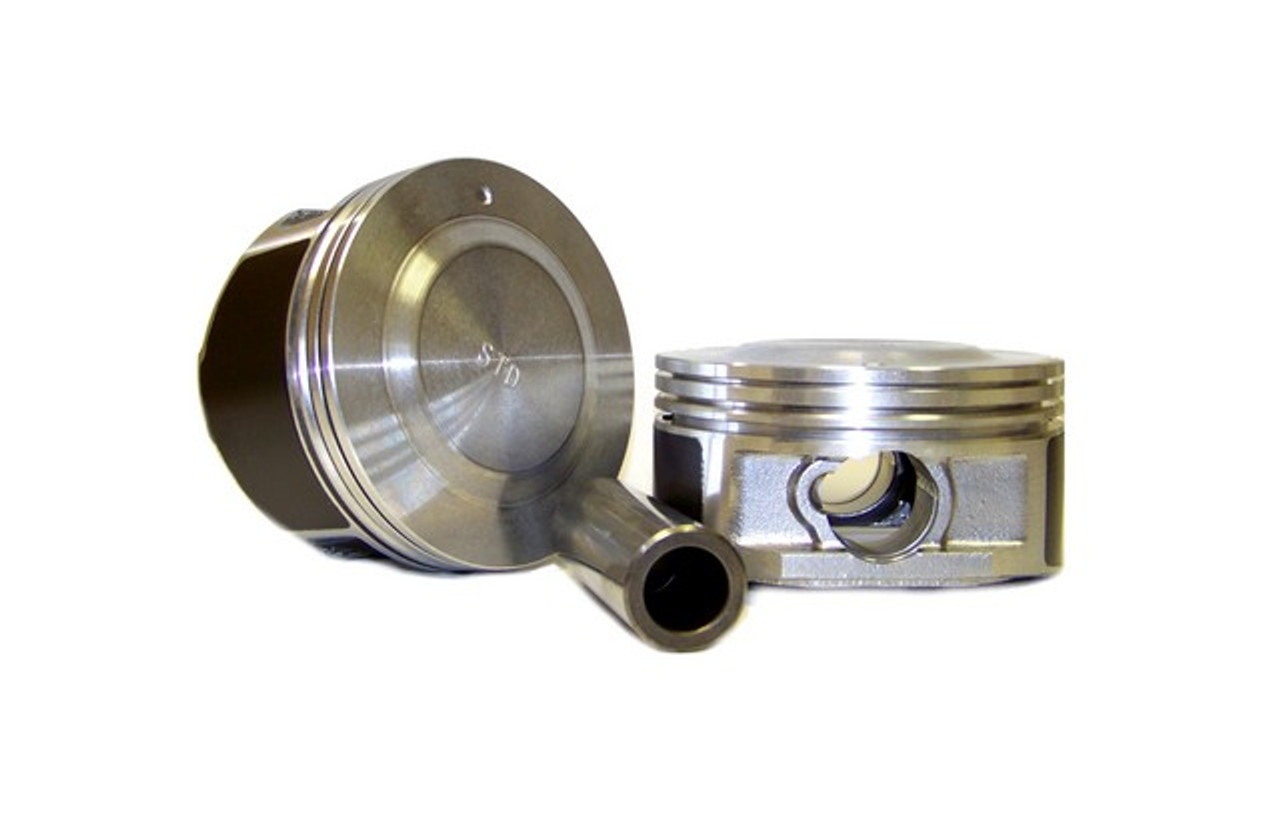 Pistons and Rings Fits 04-06 Chevrolet GMC Isuzu 2.8L DOHC