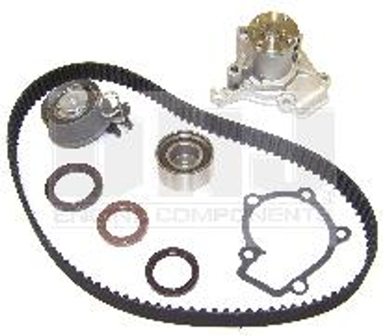 2008 Hyundai Tucson 2.0L Engine Timing Belt Kit with Water Pump TBK120WP -6 | Hyundai Timing Belt |  | Engine Parts Only