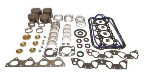 Engine Rebuild Kit 1.3L 1997 Ford Aspire - EK417.4