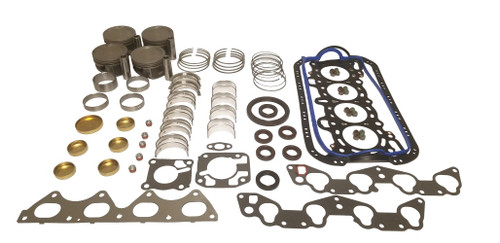 Engine Rebuild Kit 1.8L 1994 Ford Escort - EK490.4