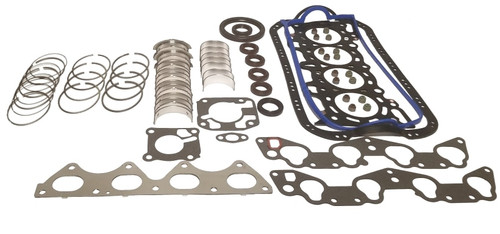 Engine Rebuild Kit - ReRing - 1.8L 1994 Ford Escort - RRK490.4
