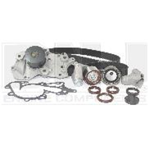 2009 kia rondo 2.7l engine timing belt kit with water pump tbk182wp -11  engine parts only