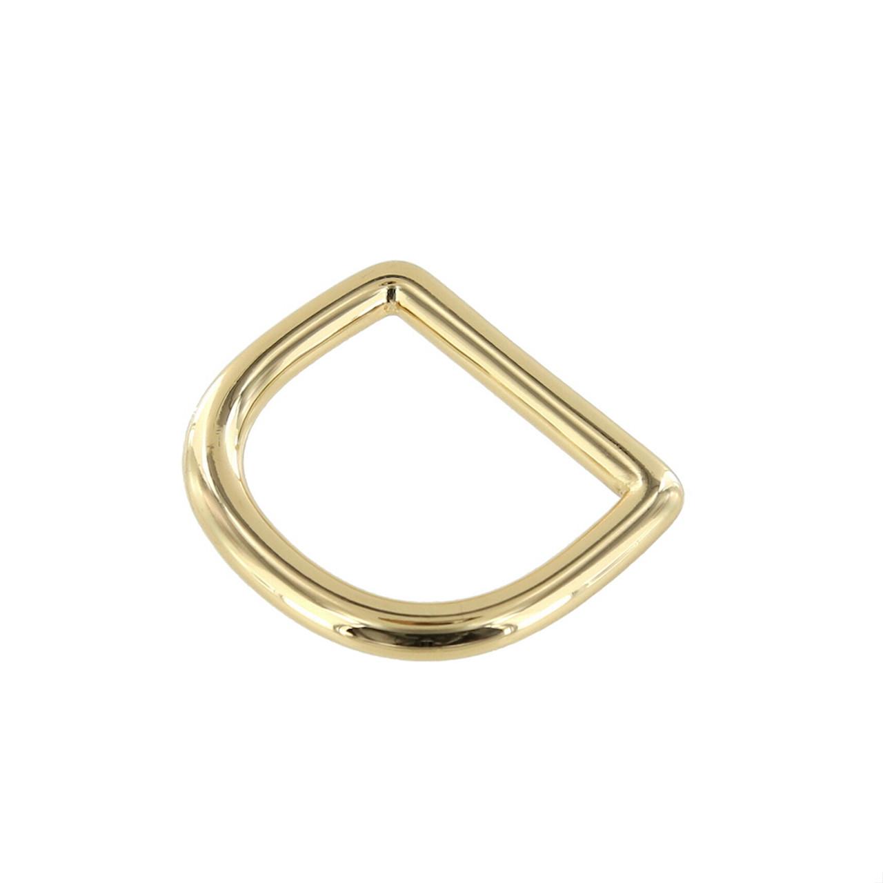 6pcs Alloy D-ring 12mm D-Ring Purse Dring Handbag making supplies  in gold,silver,black