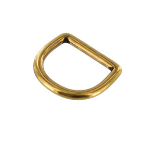 D Ring 1  Steel 20ct Gold and Black Matte