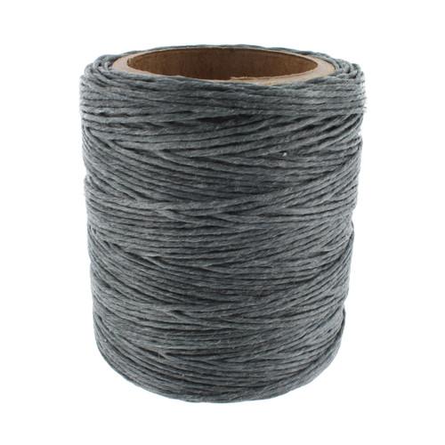 Maine Thread Waxed Cord, 70 Yard Spool, Gray
