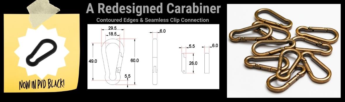 New Buckleguy Carabiner Design