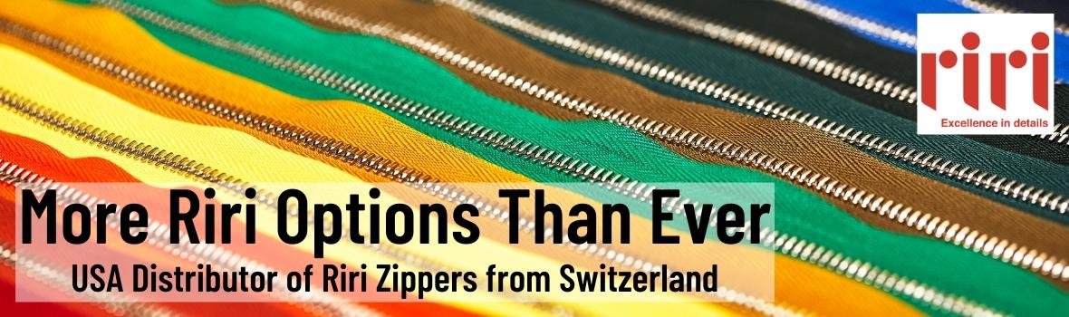 USA Distributor of Riri Zippers