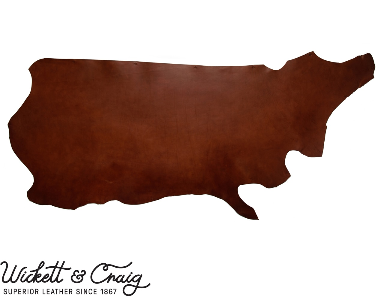 2 mm thick   BROWN  VEG TAN LEATHER SPANISH SHOULDER CHOOSE YOUR SIZE
