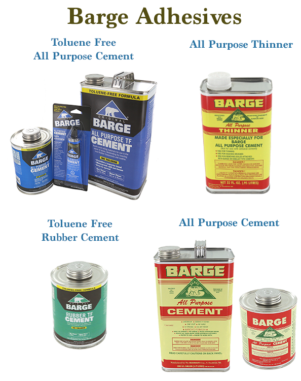 Barge Adhesives and Cements - How to use them and