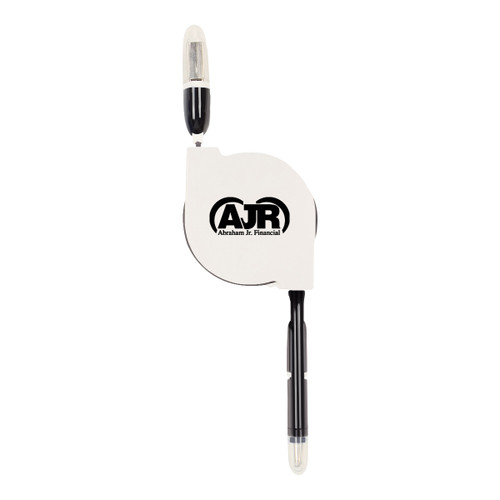 3-in-1 Retractable Charging Cable