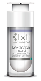 Re-action Natural  - low base skin refiner exfoliation essence 30ml