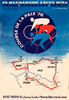 1976 Peace Race Bicycle Poster - Berlin Prague Warsaw