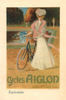 Cycles Aiglon Bicycle Poster