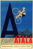 Ciclo Atala Bicycle Poster