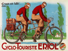 Cyclo-Touriste EROL Tandem Bicycle Poster