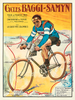 1923 Baggy-Samyn Tour De France Bicycle Poster