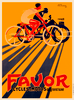 Favor Cycles & Motos Bicycle Poster