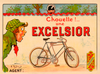 Excelsior Bicycle Poster by O'Galop