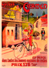 Cycles Carmen Bicycle Poster by Marodon