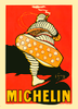 Michelin Bibendum French Bicycle Poster by O'Gallop