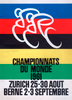 1961 World Cycling Championships Bicycle Poster Print