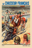 Le Chasseur Francais Bicycle Poster by Paul Ordner