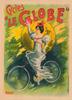 Cycles Le Globe Vintage Bicycle Poster for George Hetley Cycles