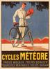 Cycles Meteore Vintage Bicycle Poster Print