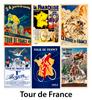 Tour de France Bicycle Posters - Set of 6