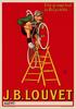 J. B. Louvet Bicycle Poster
