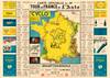 1936 Tour de France Map Poster