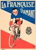 La Francaise Diamant Poster Print by Mich