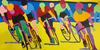 La Jolla Grand Prix - original art prints by Sandra Wright Sutherland