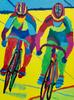 Women's Sprint - original art prints by Sandra Wright Sutherland