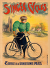 Singer Cycles Bicycle Poster Prints by Clouet