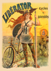 Liberator Cycles Bicycle Poster