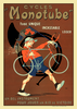 Cycles Monotube Bicycle Poster