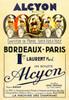 Alcyon - Bordeaux-Paris Poster