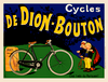 De Dion-Bouton Bicycle Poster