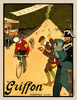 Griffon Mountaintop Finish Bicycle Poster