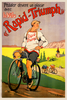 Rapid-Triumph Bicycle Poster