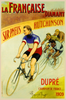La Francaise Diamant Bicycle Poster