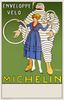 Envelope Velo Michelin Bicycle Poster