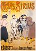 Cycles Sirius Bicycle Poster
