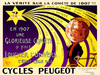 Cycles Peugeot Comete Bicycle Poster