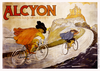 Alcyon Musketeers Bicycle Poster