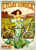 Cycles Strock Bicycle Poster