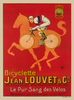 Jean Louvet & Cie Bicycle Poster