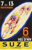 Suze 6-day Bicycle Race Poster